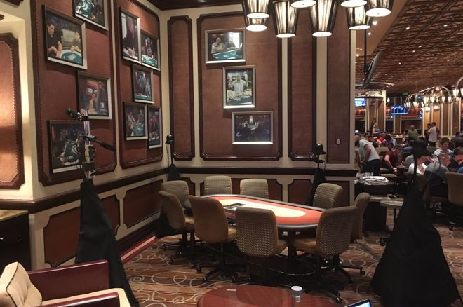 Bellagio Poker Table