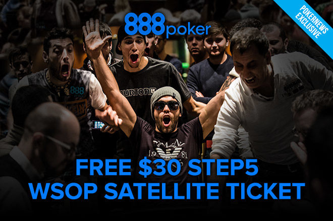 888poker free ticket offer