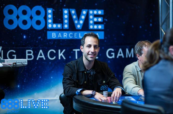 Terje Sirenes y Alec Torelli dominaron el último de los días 1 del Main Event del 888live... 0001