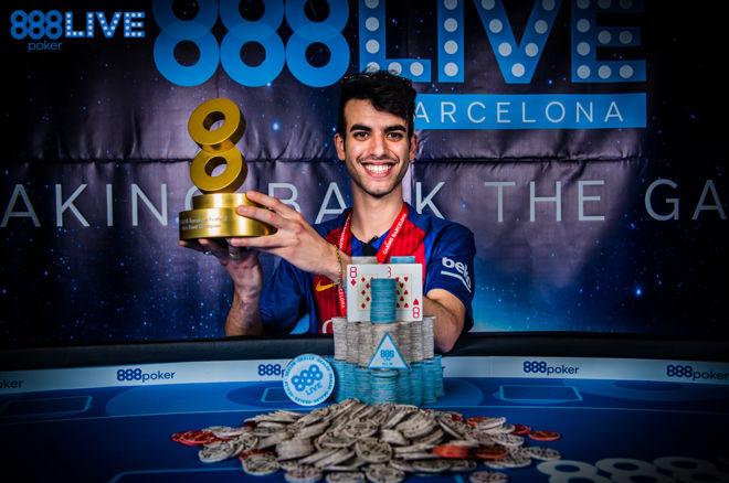 Luigi Shehadeh Wins 2017 888Live Barcelona Main Event 0001