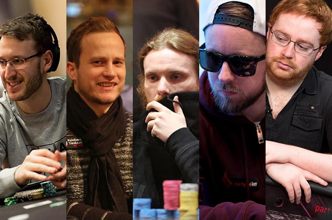 Max Silver, Simon Deadman, Tom Hall, Patrick Leonard, and Niall Farrell