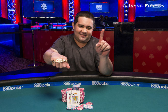 Bryan Hollis Wins WSOP Event #1: $565 Casino Employees No-Limit Hold'em 0001