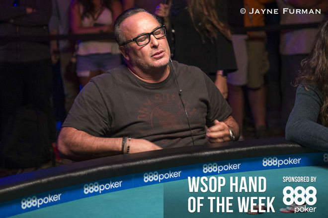 Hand of the Week: Shak's 'Brutal' Bubble in the One Drop High Roller 0001