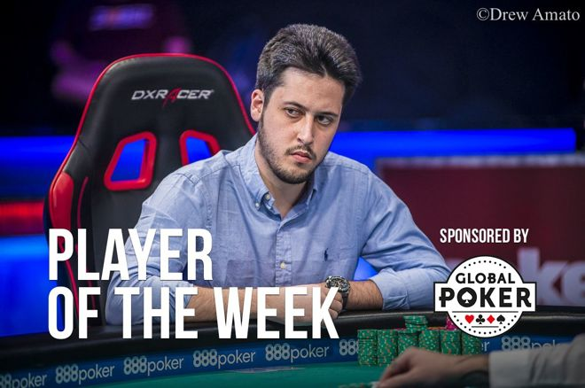 Player of the Week: Adrian Mateos Makes WSOP History 0001