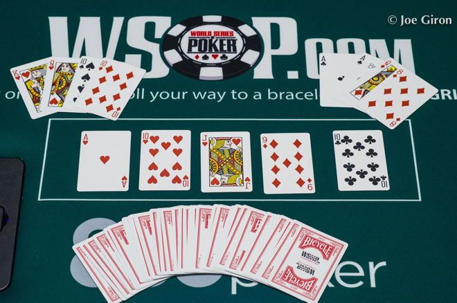 888 Hand of the Week: Flopped Royal Flush, Rivered Quads Beats Full House 0001