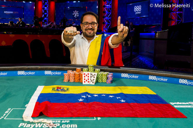 Joseph Di Rosa Rojas Wins WSOP Event #23: THE MARATHON 0001