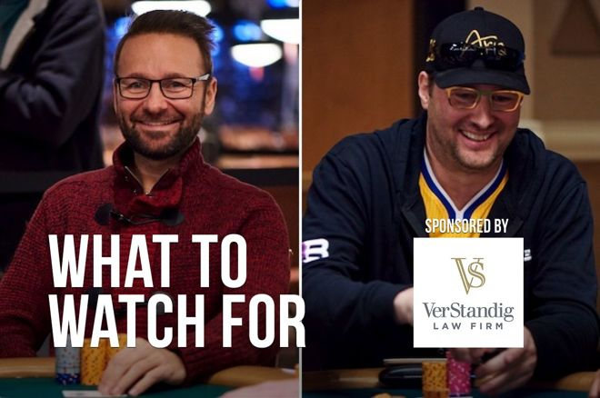 Daniel Negreanu and Phil Hellmuth