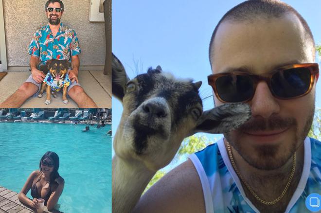 Tweet, Tweet, Bad Beat: Bikinis and Drinks in the Extreme Vegas Heat 0001