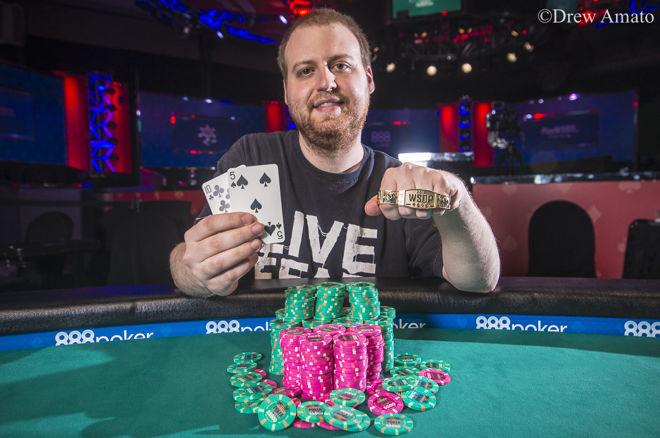 Pasaulio Pokerio čempionas J.Mckeehenas iškovojo antrąjį WSOP trofėjų 0001