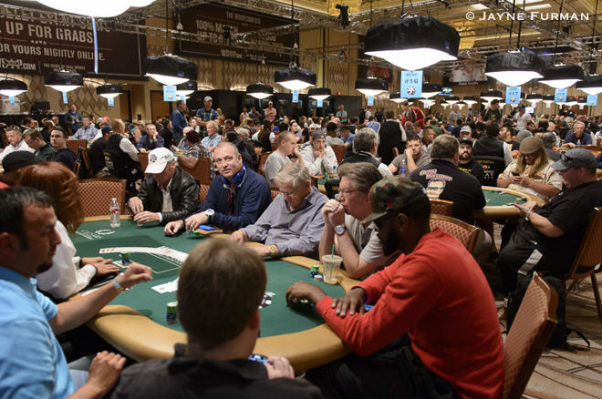 Action from the 2017 World Series of Poker
