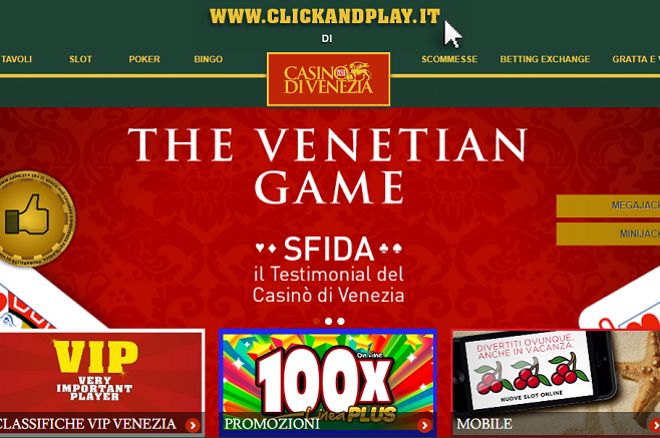 Casino' di Venezia online