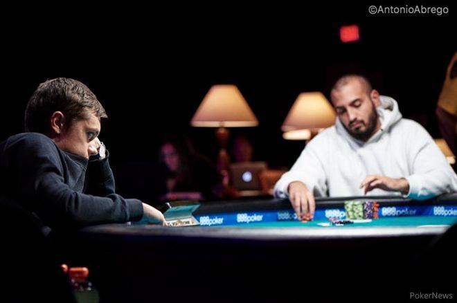 Artur Rudziankov bojuje o historicky druhý WSOP náramek pro Českou republiku 0001