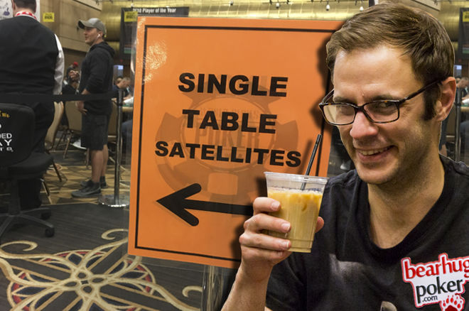 WSOP Single Table Satellites