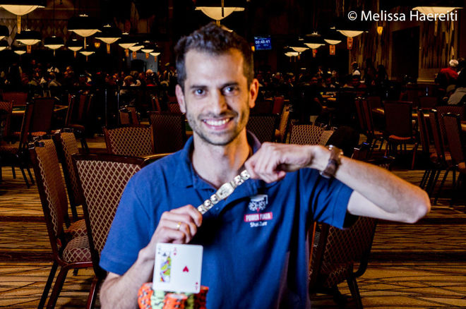Shai Zurr Speeds to WSOP Bracelet in Event #65: $1,000 Turbo 0001