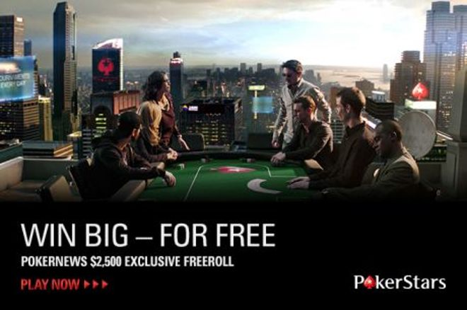 PokerStars $2.5K Freeroll