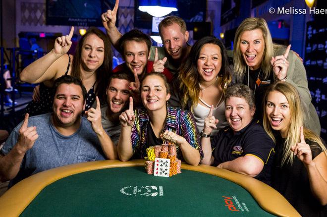 WSOP Ladies : Heidi May triomphe avec la chemise magique du clan belge 0001