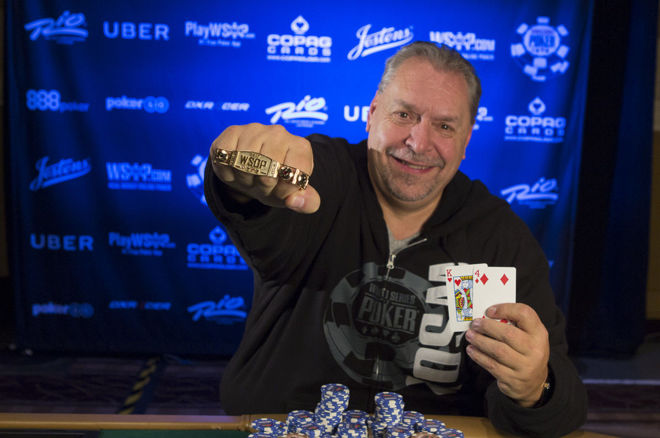 Dieter Dechant Takes Down WSOP Event #19: THE GIANT 0001