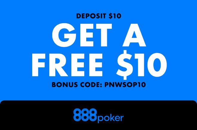 888poker free $10