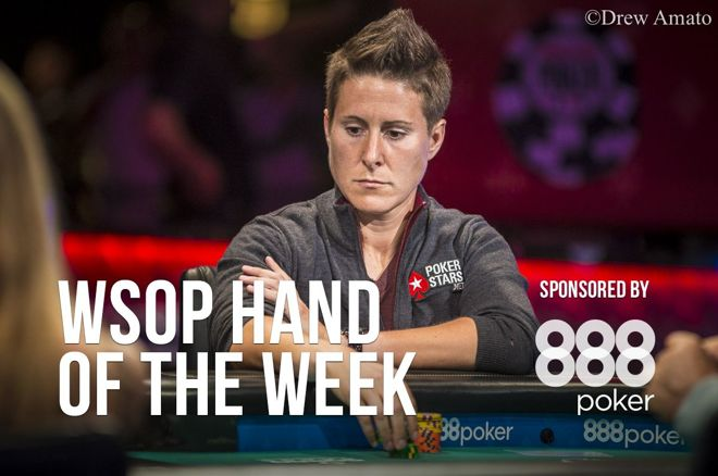 Hand of the Week: Vanessa Selbst Coolered on Main Event Feature Table 0001