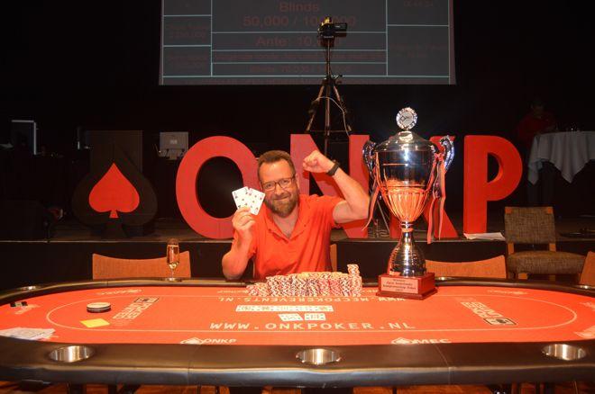 Guy van Ginderen wint Open Nederlands Kampioenschap Poker 2017!
