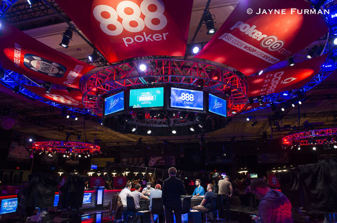 Main Feature Table, 2017 WSOP Main Event Day 1C