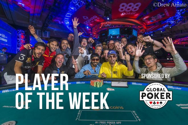 Player of the Week: Nipun Java a Double WSOP Bracelet Winner in 2017 0001