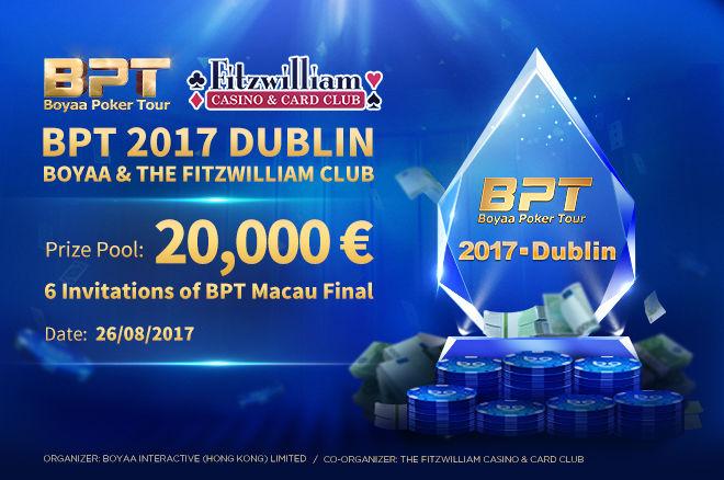 Boyaa Poker Tour Dublin
