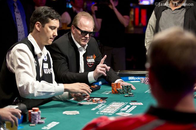 "2017 WSOP Main Event - Marcel ""The Flying Dutchman"" Luske als enige door naar Dag 7!"