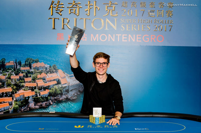 Fedor Holz Wins 2017 Triton Super High Roller Series Montenegro 0001