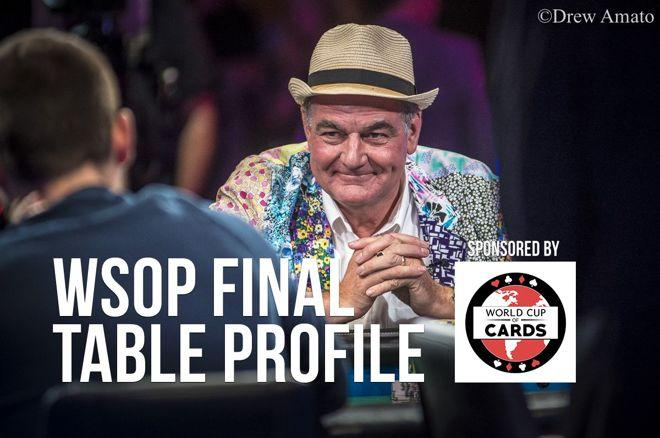 WSOP Final Table Profile: John Hesp 0001
