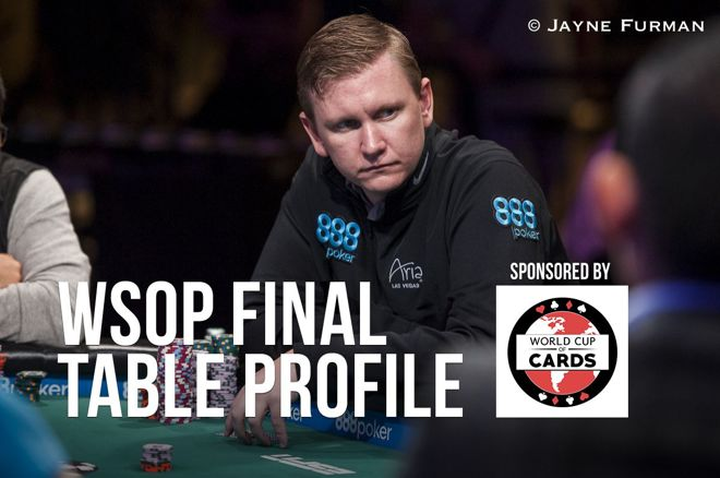 WSOP Final Table Profile: Ben Lamb 0001