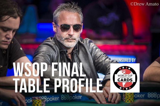 WSOP Final Table Profile: Damian Salas 0001