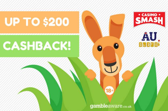 Play Pokies and Live Casino Games with this Massive Cashback Bonus!