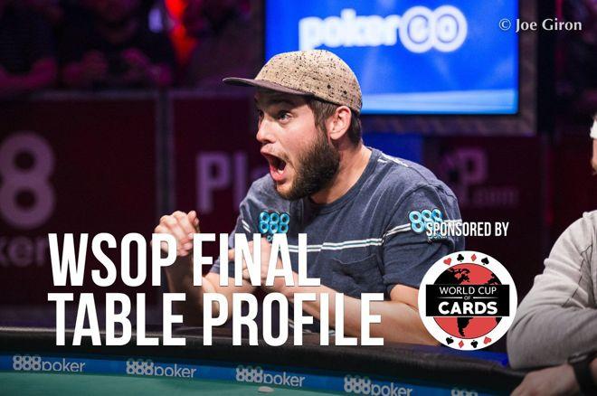 WSOP Final Table Profile: Bryan Piccioli 0001