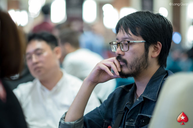 Sparrow Cheung Spins Up Big Stack at PokerStars Festival Korea Main Event 0001