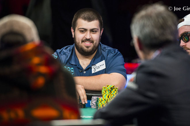 Scott Blumstein Takes Huge Lead in WSOP Main Event; Only Seven Remain 0001