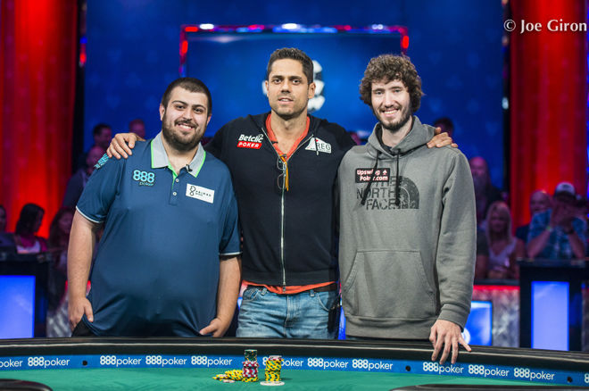 Scott Blumstein Leads Final Three in World Series of Poker Main Event 0001