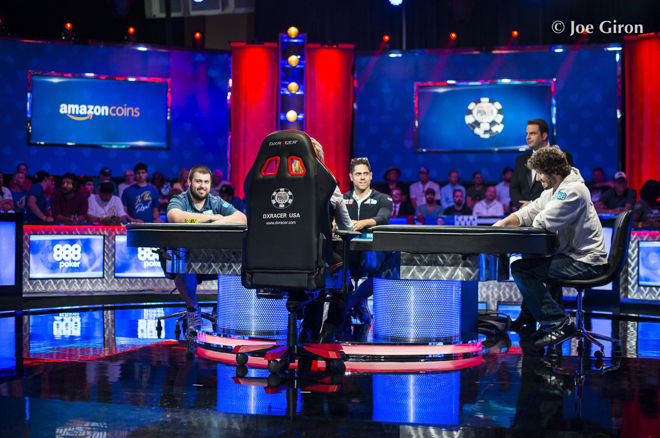 Final Three Players at 2017 WSOP Main Event