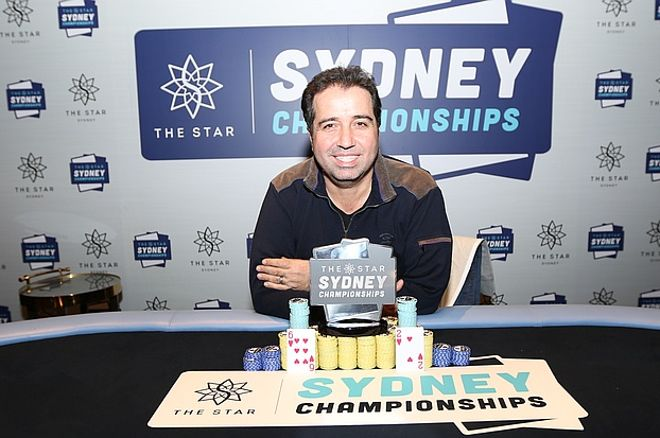 The 2017 Star Sydney Championships 6 Max Champion is Warwick Mirzikinian 0001