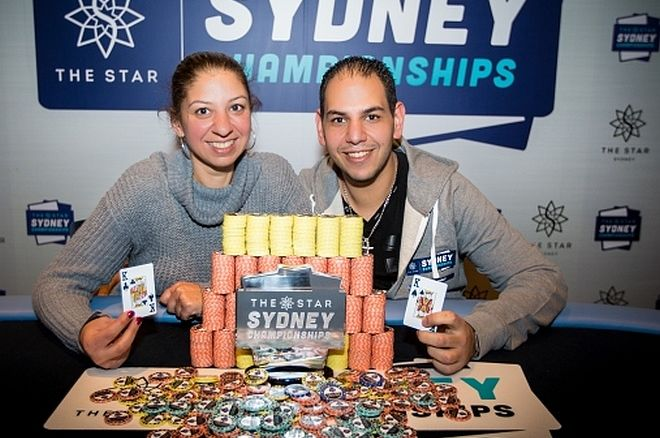 Despina Yiannakoulias and Andrew Markos Make a Great Team at The Star Sydney Championships 0001