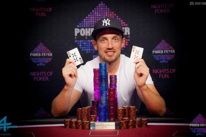 Mamy to! Jakub Chludziński wygrywa Main Event Poker Fever w Ołomuńcu! 0001