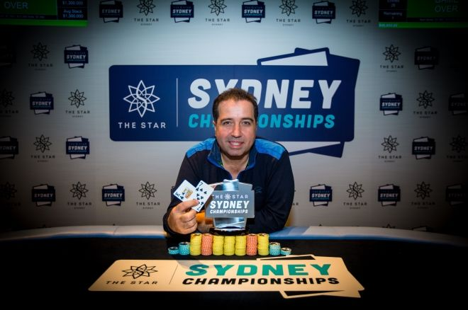 Warwick Mirzikinian Wins Another Title at Star Sydney Championships 0001