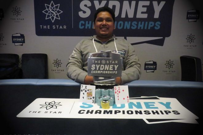 Ravin Saharundin Wins Mixed Event at Star Sydney Championships 0001