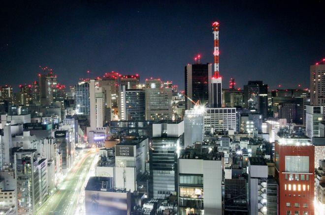 Toyko at night