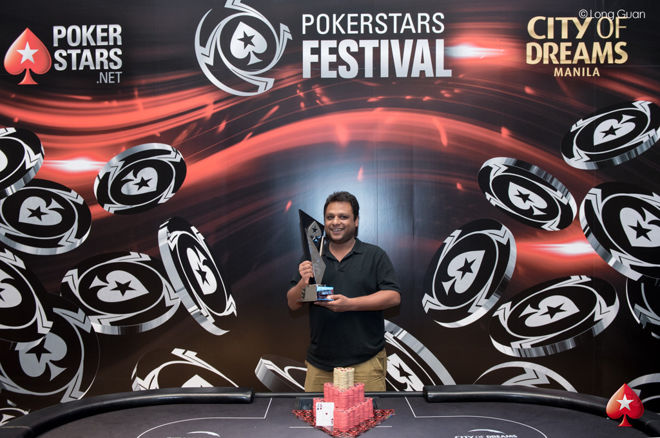 Uday Bansal Wins 2017 PokerStars Festival Manila Main Event 0001