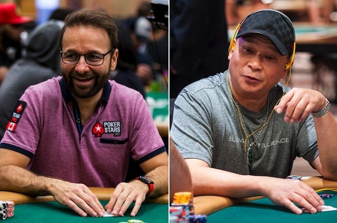 Daniel Negreanu and Johnny Chan