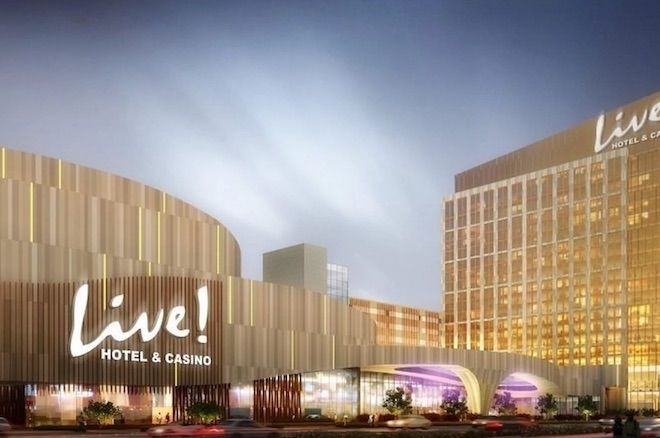 Artist rendering of proposed Live! Hotel & Casino Philadelphia