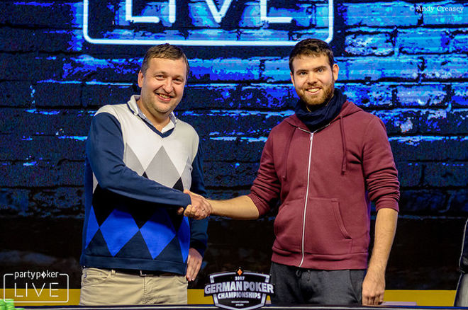 Jack Sinclair verslaat Tony G in Super High Roller bij German Poker Championship 0001