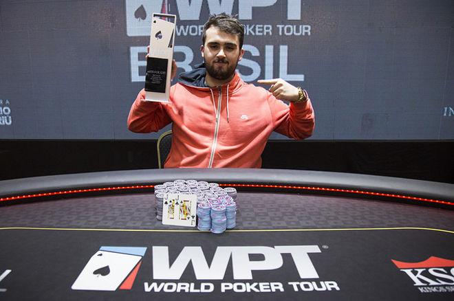 Raphael Francisquetti Makes History (and $247,321) at First WPT Brasil 0001