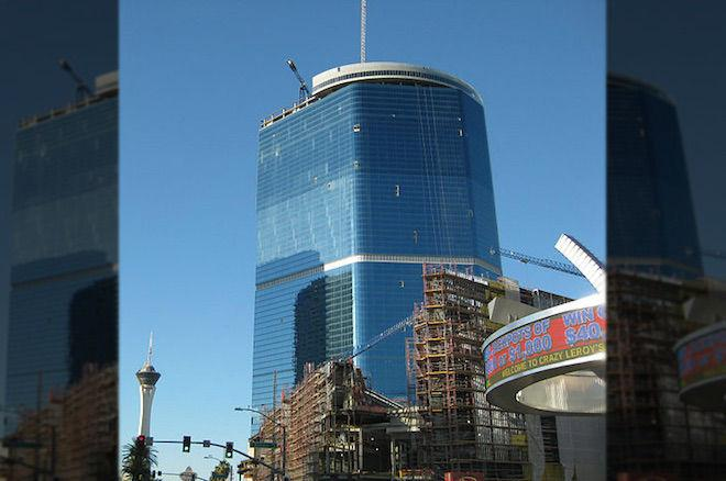 The unfinished Fontainebleau Las Vegas